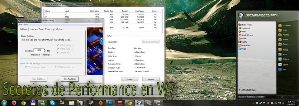 Secretos de Performance en W7