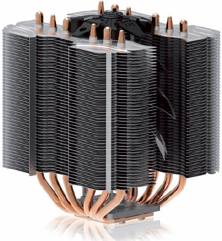 Zalman presentó su CPU Cooler CNPS14X
