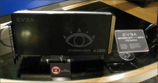 CTX2012: EVGA muestra su tarjeta de video GTX 680 2Win GEMINI