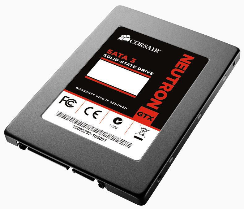 Corsair actualzia sus SSD Neutron GTX con memorias Toggle-NAND de 19 nm