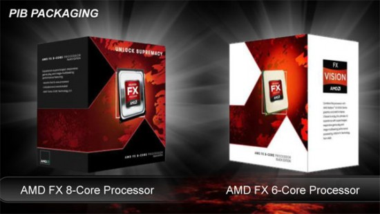 Se filtran las especificaciones de más microprocesadores AMD FX-Series de 2º generación