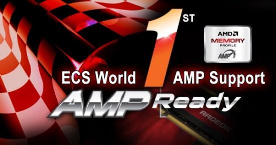 ECS es el primero en dar soportare a los próximos AMP (AMD Memory Profile)
