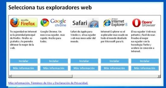 Europa investiga si Microsoft incumplió su compromiso de ofrecer otros navegadores