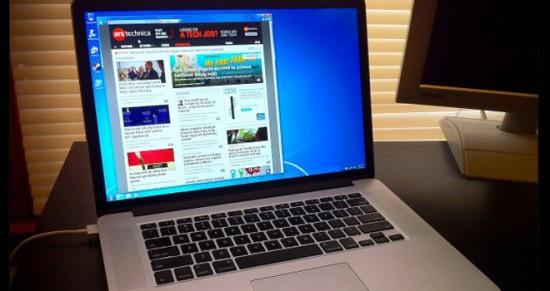 ¿Qué pasa si se instala Windows 7 en el MacBook Pro Retina Display?