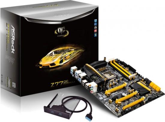 ASRock anuncia oficialmente su motherboard Z77 OC Formula