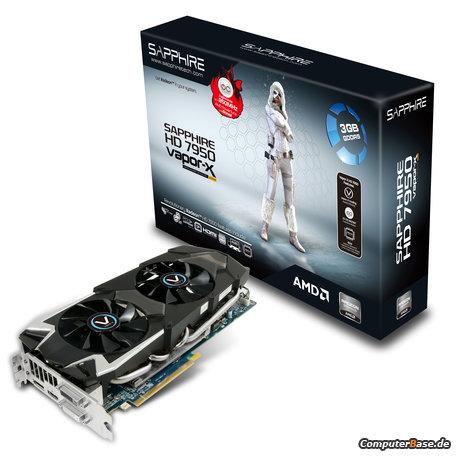 Sapphire anuncia su Radeon HD 7950 con PowerTune Boost