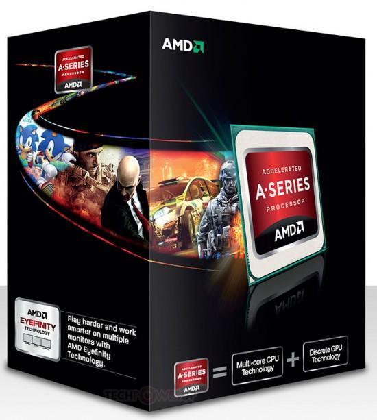 Ya están disponibles los APU AMD Trinity socket FM2