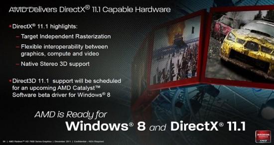 AMD anuncia que su Catalyst 13.10 dará soporte a DirectX 11.2