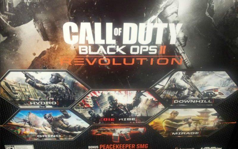Se filtran detalles de Revolution el primer DLC de Black Ops II