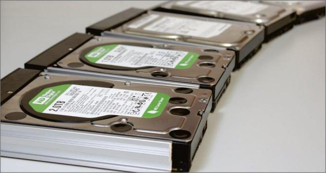 Tasa de fallos de discos duros del 2014