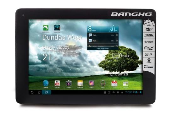 Banghó lanza su último gadget tecnológico: Aero Tablet