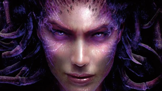 StarCraft II: Heart of the Swarm muestra su instrucción cinematica