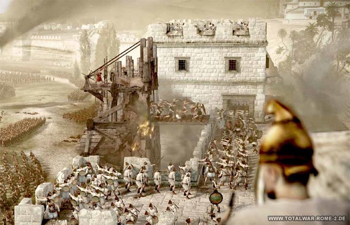 Nuevo parche para Total War: Rome II