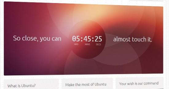 Dentro de poco llega versión para pantallas táctiles de Ubuntu