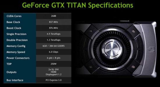 Nvidia retrasa su GeForce GTX Titan pero se filtran Benchmarks y especificaciones
