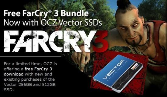 Compra un SSD Vector de OCZ y llévate Farcry 3 gratis