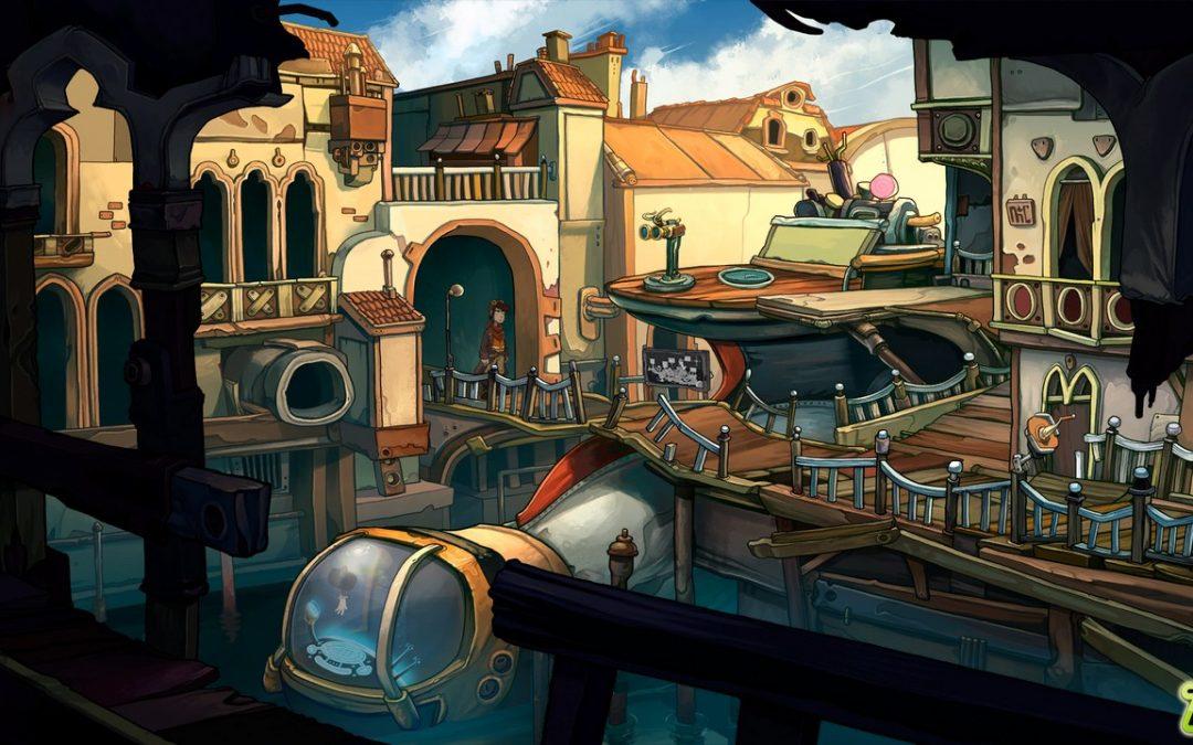 El clásico juego de aventura Deponia estará disponible en PS3