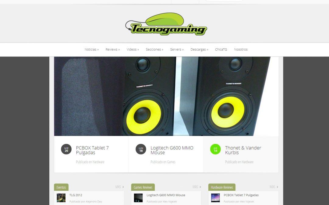 Portal TecnoGaming 2013