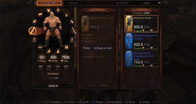 Así se juega Diablo III en consolas
