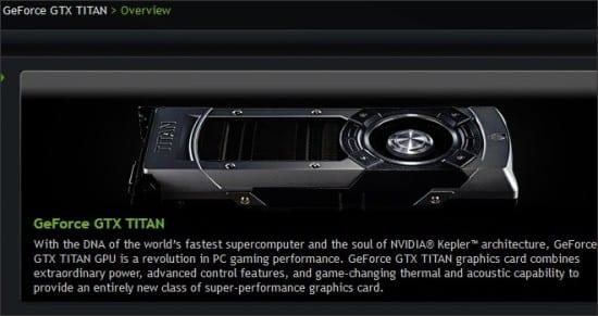 Nvidia GeForce GTX Titan LE tendría 2304 shader processors
