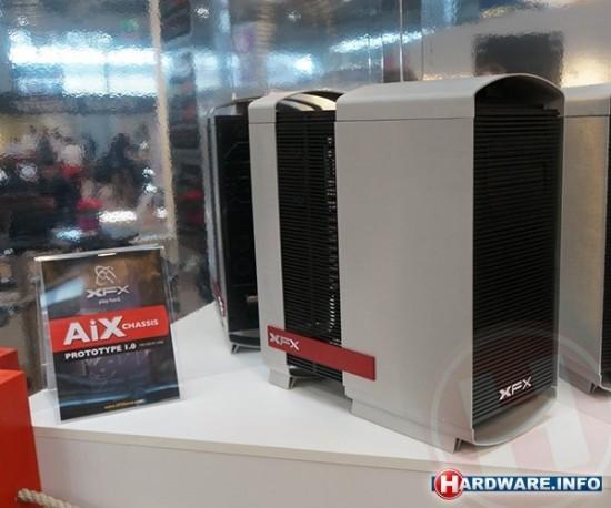 XFX ingresa al mercado de los gabinetes con su case AiX
