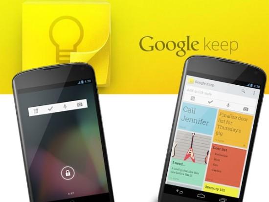 Google Keep, la nueva app para no olvidar nada