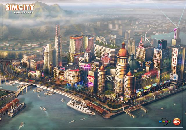 El lanzamiento de Simcity con varios problemas