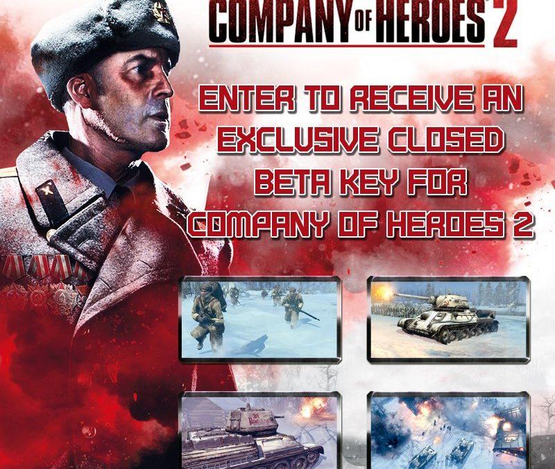 Company of Heroes 2 Beta Key