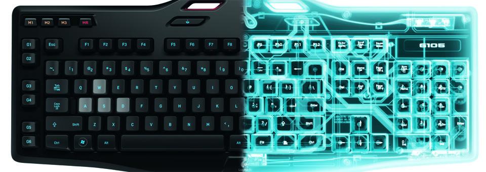 Logitech teclado G105