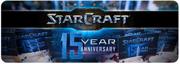 StarCraft cumple 15 años