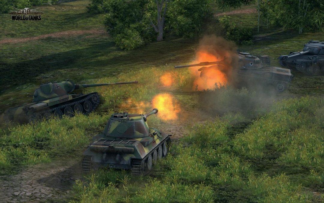 World of Tanks se actualiza a version 8.5