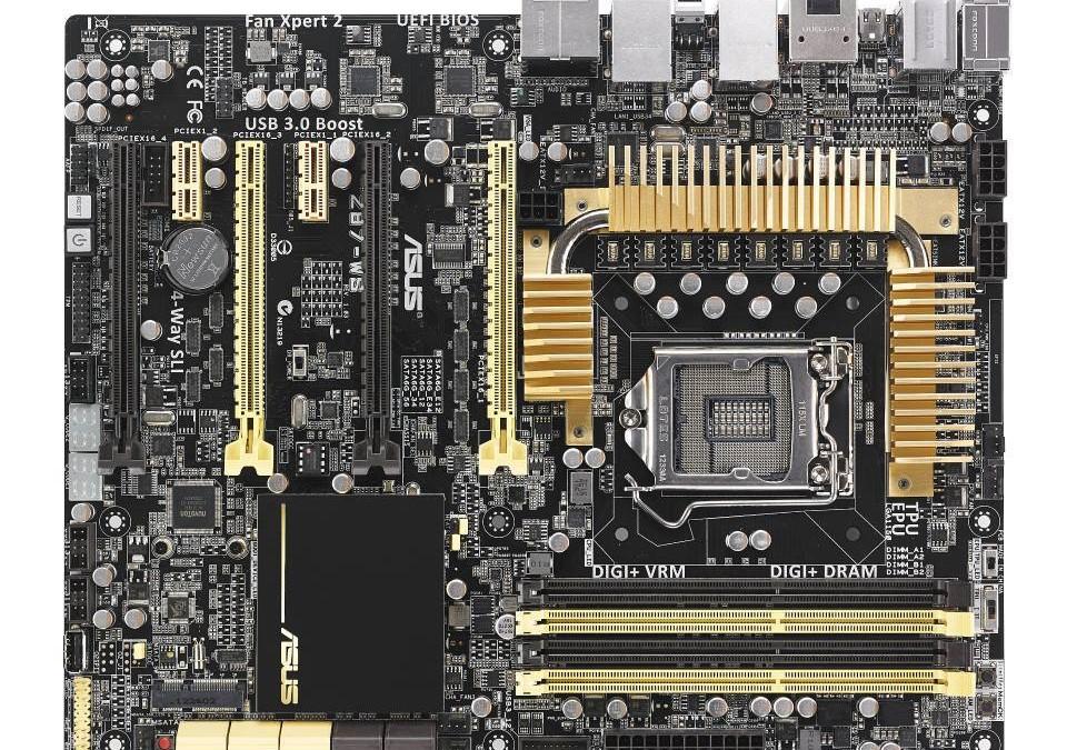 ASUS lanza motherboards Z87 con esquema de Oro