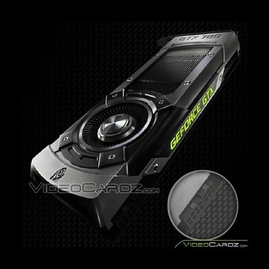 Aparece la primer imagen oficial de la NVIDIA GeForce GTX 780