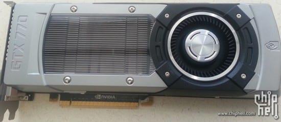 Aparecen nuevos detalles de la Nvidia GTX 770