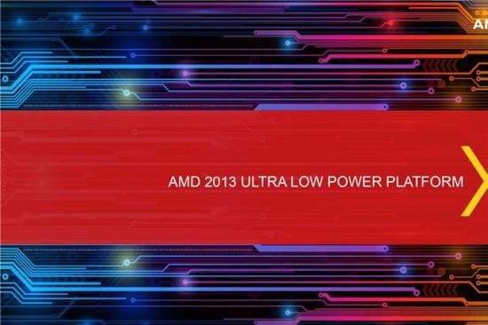 AMD anuncia sus APUs Temash, Kabini y Richland para portatiles