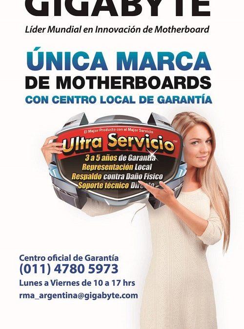 GIGABYTE lanzó Web Ultra Servicio para RMA