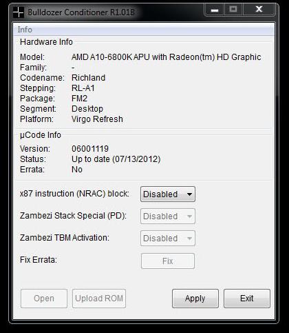 Bulldozer Conditioner mejorá el rendimiento en SuperPi para CPUs AMD FX/A Series