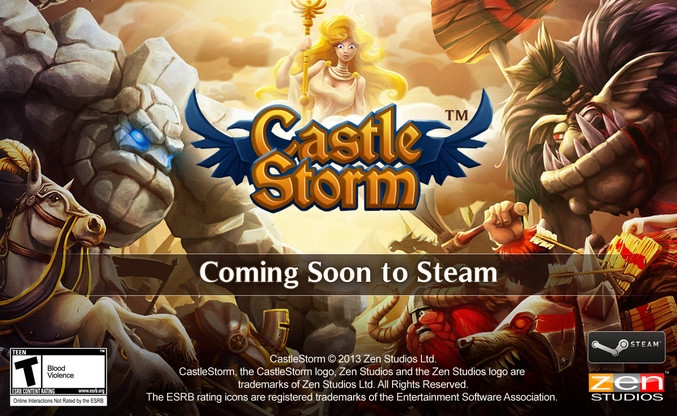Se acerca CastleStorm a Steam