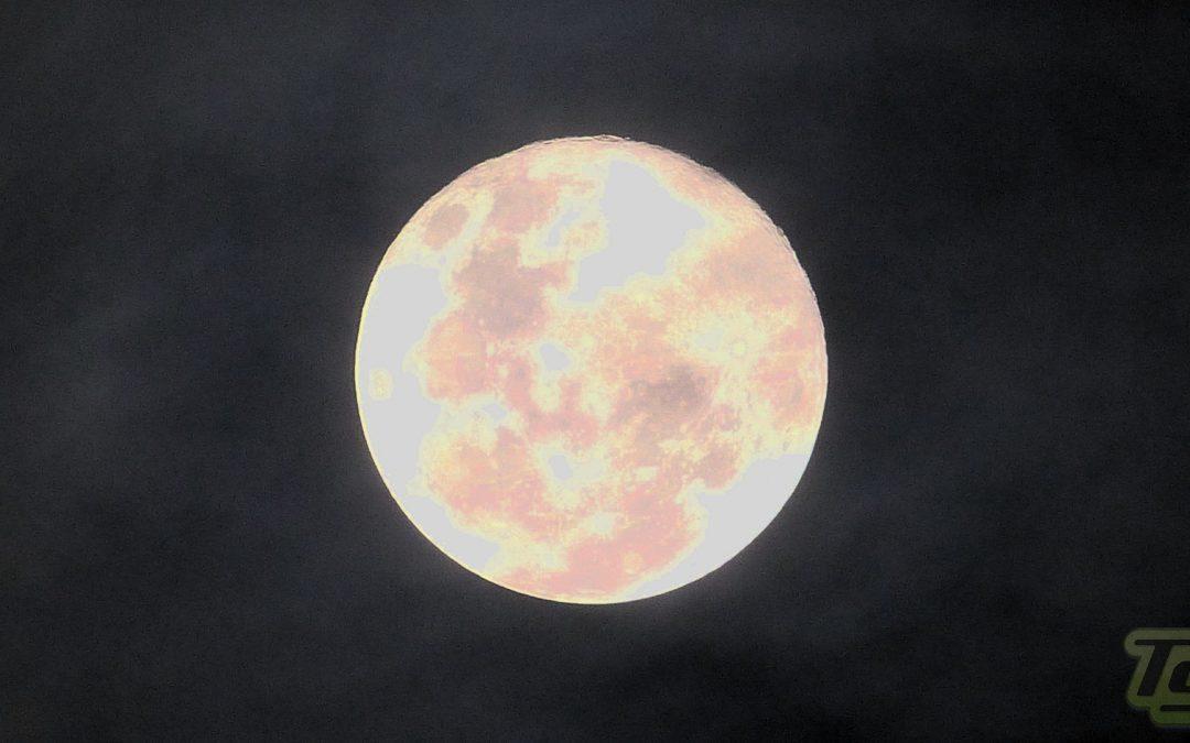 La luna en su momento mas cercano