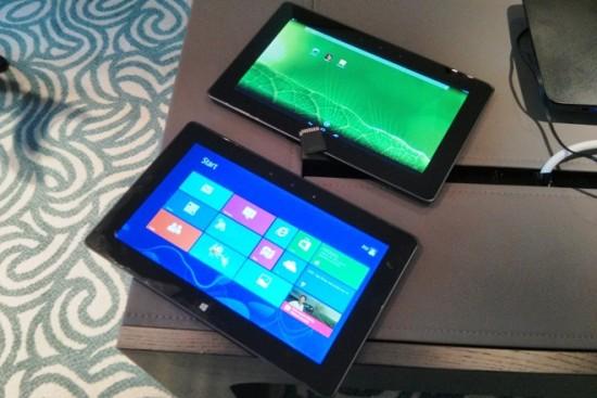 CTX 2013: Intel muestra tablet corriendo Windows 8 y Android al mismo tiempo