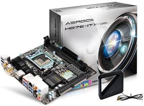 ASRock anuncia su mother Mini-ITX H87E-ITX/ac