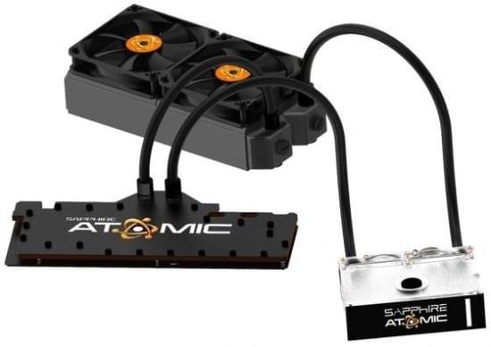 Sapphire anuncia su Radeon HD 7990 Atomic