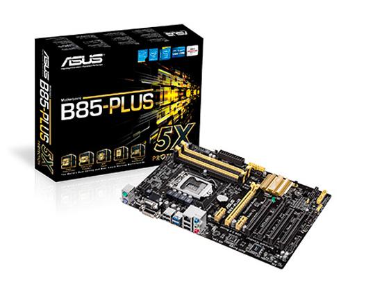 Asus también ofrece overcloking en sus placas H87 y B85