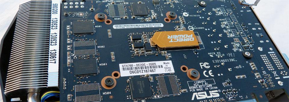 ASUS GTX 760 DirectCU II OC
