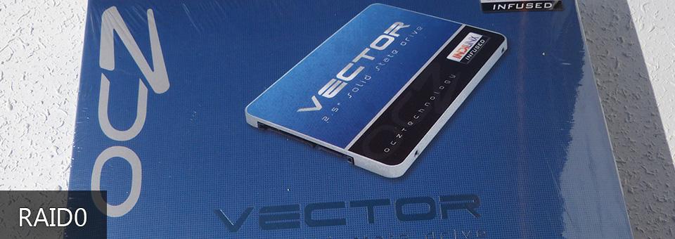 Vector 256GB SSD RAID0