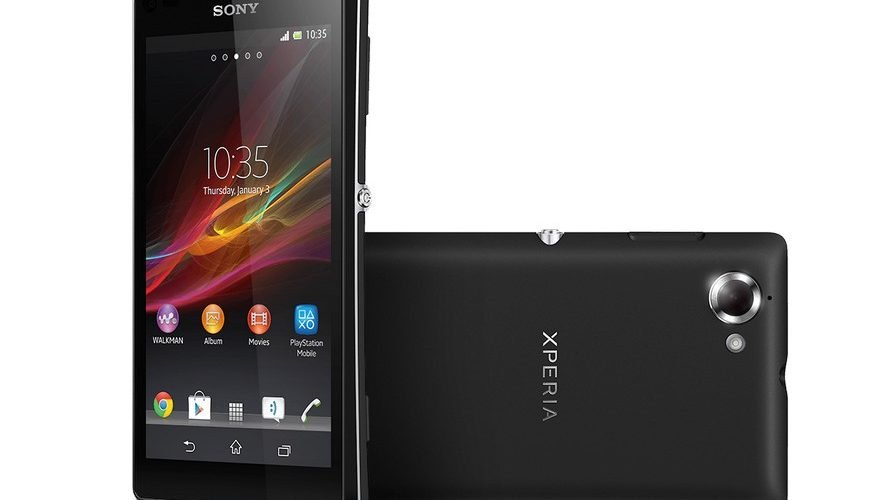 SONY presenta el smartphone XPERIA L