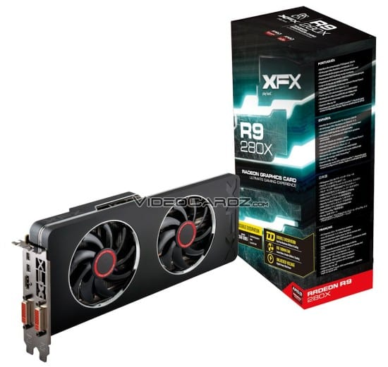 XFX muestra su Radeon R9 280X Double Dissipation