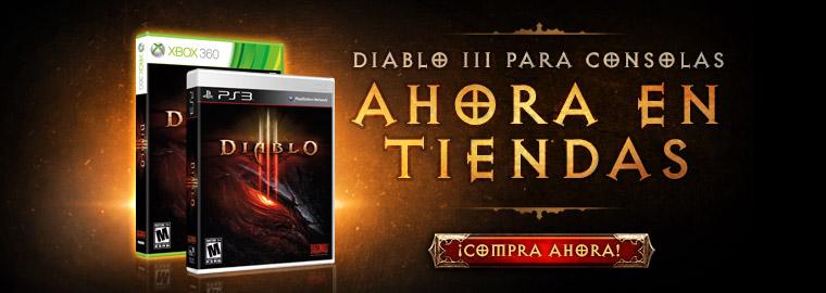 Diablo III ya está disponible en PS3 y XBOX 360