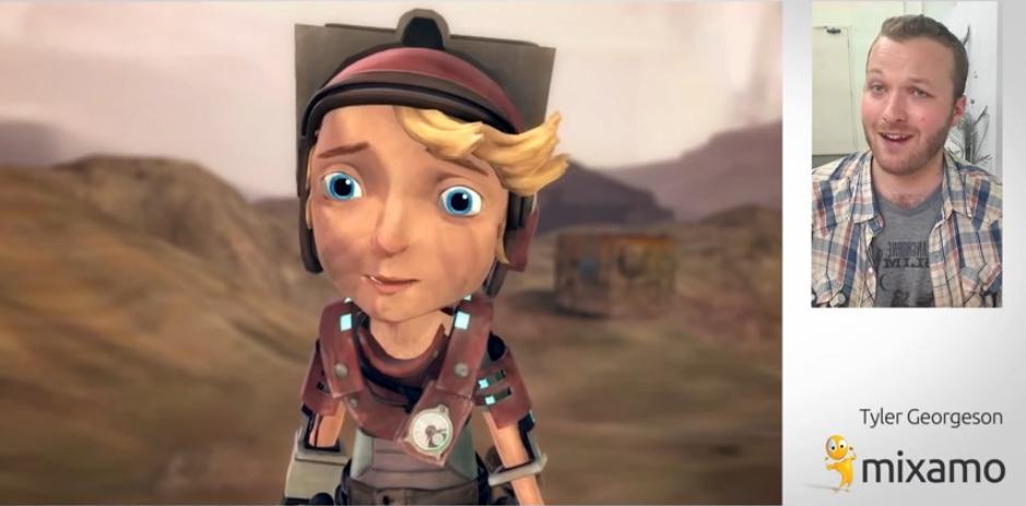 AMD y Mixamo revolucionan el arte para personajes con Face Plus