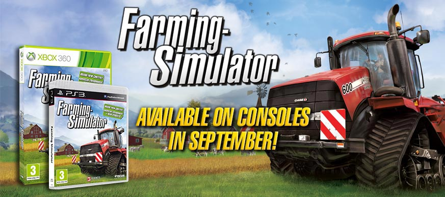 Farming Simulator disponible para Xbox360 y PS3